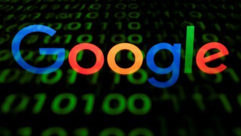 """(FILES) A file illustration picture taken on April 29, 2018, shows the Google logo displayed on a screen and reflected on a tablet in Paris.  The battle over the European Commission's proposed Copyright Directive has been particularly intense, reaching fever pitch as the European Parliament prepares to have a second vote on the issue on September 12, 2018. The fight is over two parts of the planned law. The first is Article 13 -- it would make platforms like Google-owned YouTube legally liable for copyrighted material to prevent content producers being ripped off. The second is Article 11 -- it would create a so-called """"neighbouring right"""" meaning that newspapers, magazines and news agencies including AFP would have to be paid when Google or other websites link to their stories. The tech industry won round one of the fight in July, 2018 when the 750 members of the European Parliament rejected the text in an initial vote. Some MEPs hit out at what French centre-right lawmaker Marc Joulaud called a """"lobbying campaign of unprecedented violence orchestrated by GAFA (Google, Apple, Facebook and Amazon)"""". / AFP PHOTO / Lionel BONAVENTURE"""