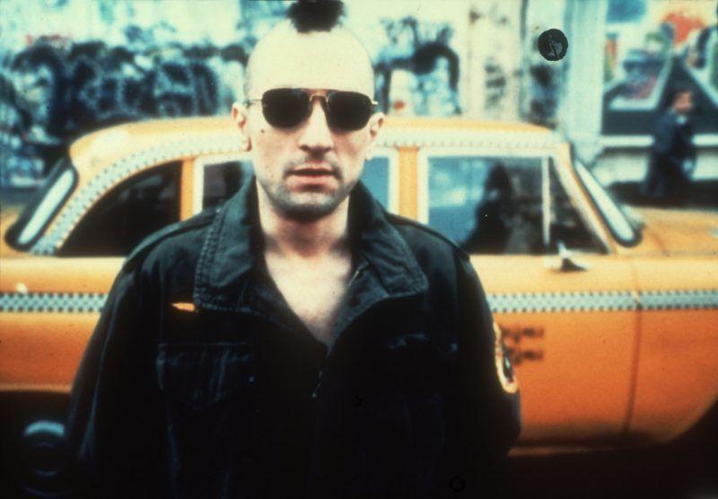 Taxi driver Year: 1975 Director: Martin Scorsese Robert De Niro  Grand prize at 1976 Cannes Film Festival