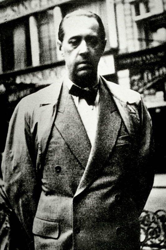 Portrait de Sandor Marai (1900 - 1989), ecrivain hongrois ©Effigie/Leemage
