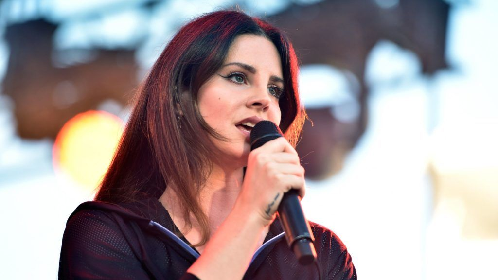 CARSON, CA - MAY 20: Singer Lana Del Rey performs onstage at KROQ Weenie Roast y Fiesta 2017 at StubHub Center on May 20, 2017 in Carson, California.   Alberto E. Rodriguez/Getty Images for CBS Radio Inc./AFP