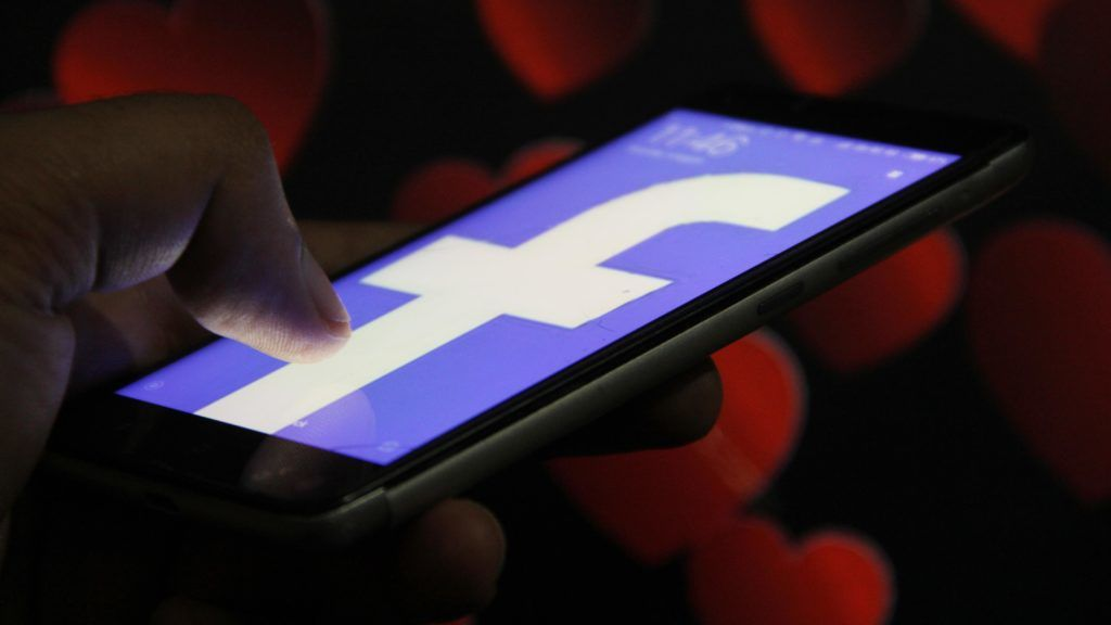 Facebook has started internal testing of its dating app. (Photo by Nasir Kachroo/NurPhoto)