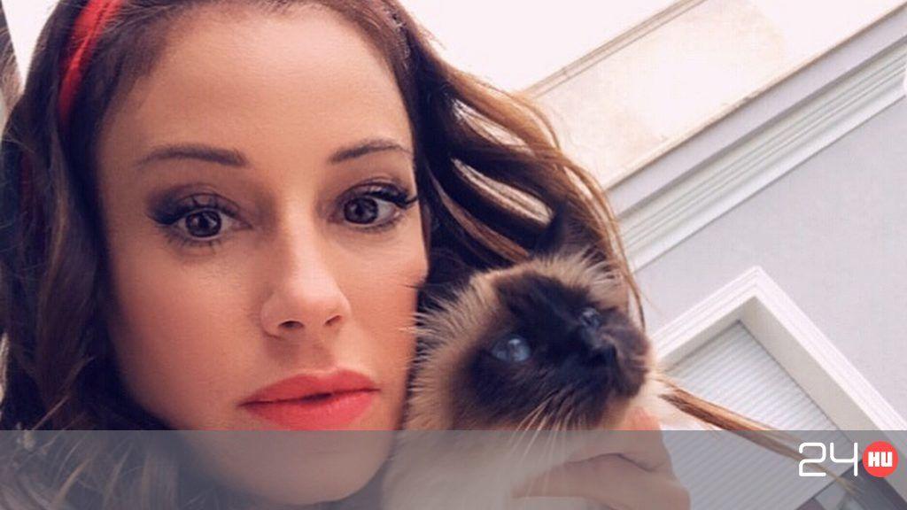Vajna Tímea macskája beteg lett a sok stressz miatt