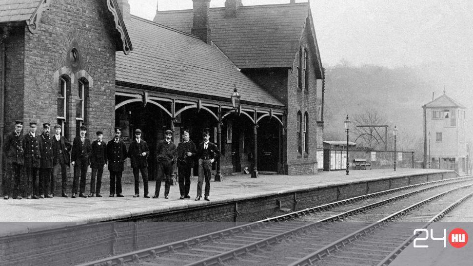 Eladó egy szellemjárta vasútállomás