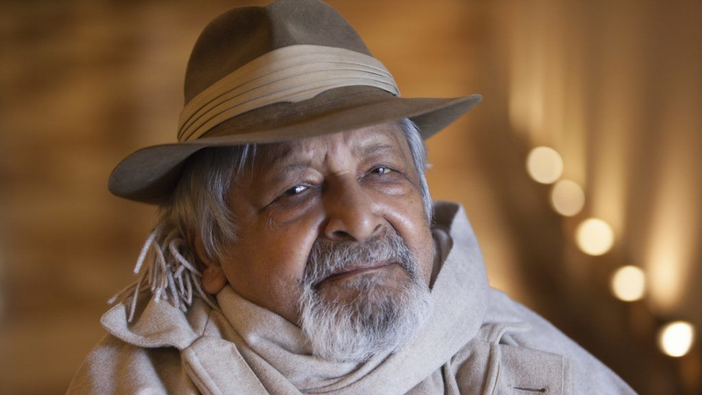 Portrait of Vidiadhar Surajprasad Naipaul ( V. S.  VS Naipul) - 27/01/2017 - ©Leonardo Cendamo/Leemage
