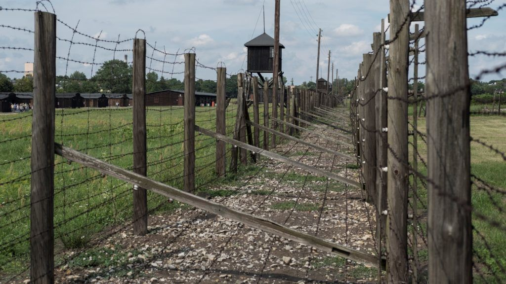 Majdanek Concentration Camp in Lublin, Poland on 17 August 2016.  The Majdanek concentration camp was a death camp built in 1941 by orders of the commander of the SS, Heinrich Himmler.  (Photo by Oscar Gonzalez/NurPhoto)