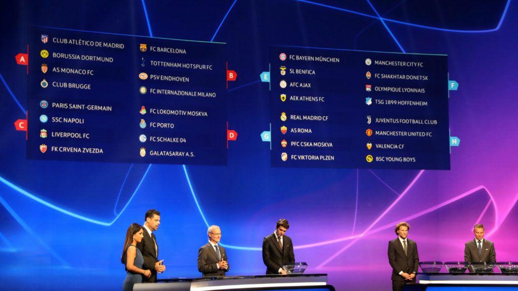 Kőkemény csoportok jöttek össze a Bajnokok Ligájában | 24.hu