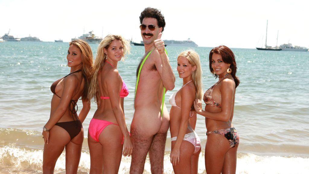 Borat Lecons culturelles sur l Amerique au profit de la glorieuse nation Kazakhstan 2006 Real  Larry Charles Sacha Baron Cohen. Collection Christophel © Four by Two / Everyman Pictures