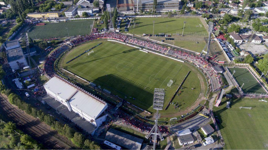 Búcsúzik a magyar futball egyik legendás stadionja  e1f77da04c