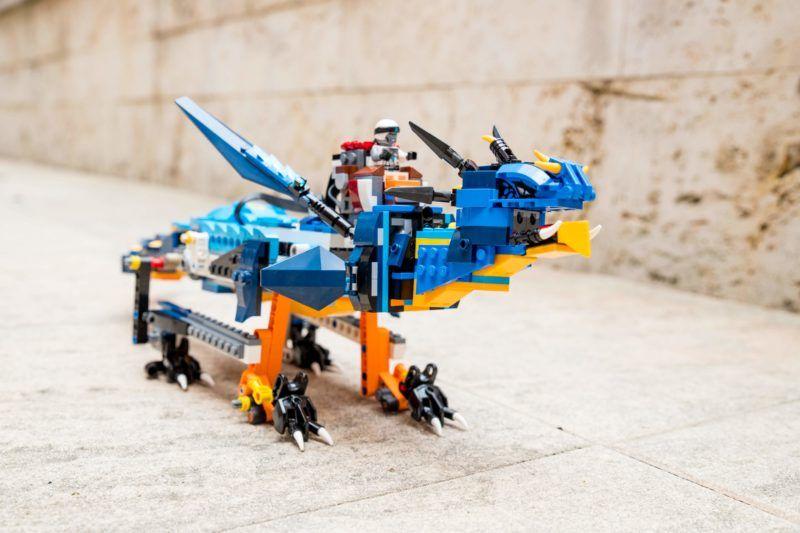 LEGO Boost / Ninjago sárkány