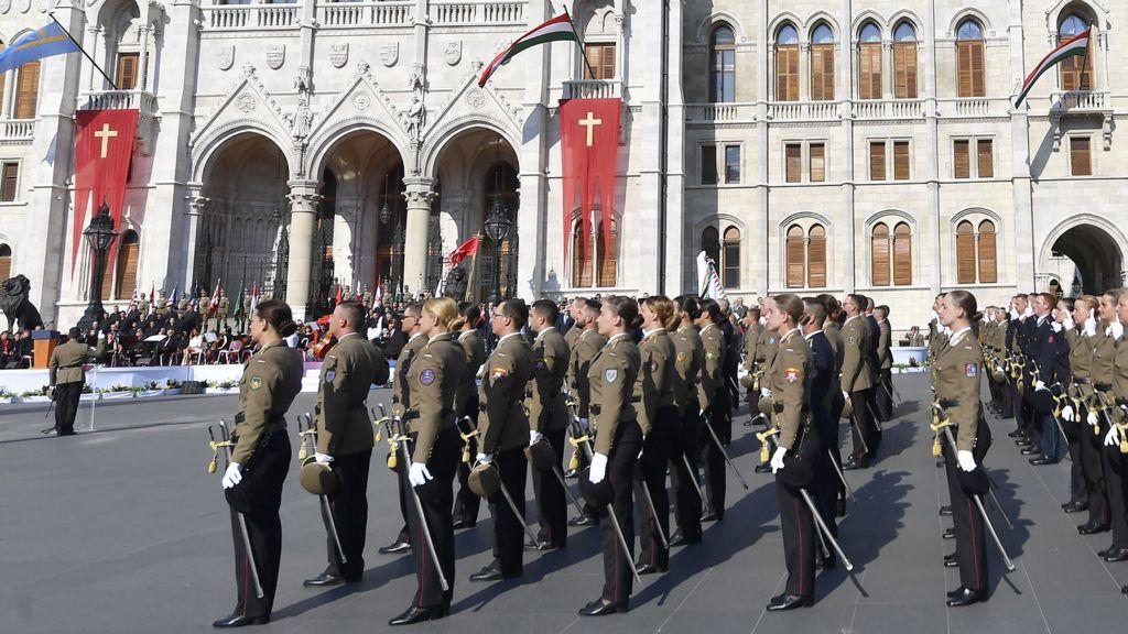 Sohasem létezett az a zászló, amit a Parlamentre akasztottak ki az államalapítás ünnepén
