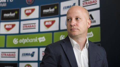 Székesfehérvár, 2017. június 8.A szerb Marko Nikolics, a Videoton FC új vezetőedzője bemutatkozó sajtótájékoztatóján Székesfehérváron 2017. június 8-án.MTI Fotó: Bodnár Boglárka