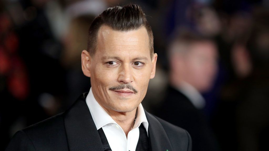 LONDON, ENGLAND - NOVEMBER 02:  Johnny Depp attends the 'Murder On The Orient Express' World Premiere at Royal Albert Hall on November 2, 2017 in London, England.  (Photo by Mike Marsland/Mike Marsland/WireImage)