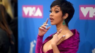 NEW YORK, NY - AUGUST 20:  Cardi B attends the 2018 MTV Video Music Awards at Radio City Music Hall on August 20, 2018 in New York City.  (Photo by Jamie McCarthy/Getty Images)