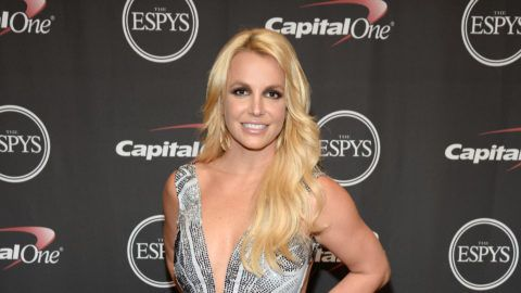 LOS ANGELES, CA - JULY 15:  (EXCLUSIVE COVERAGE) Musician Britney Spears attends The 2015 ESPYS at Microsoft Theater on July 15, 2015 in Los Angeles, California.  (Photo by Kevin Mazur/WireImage)