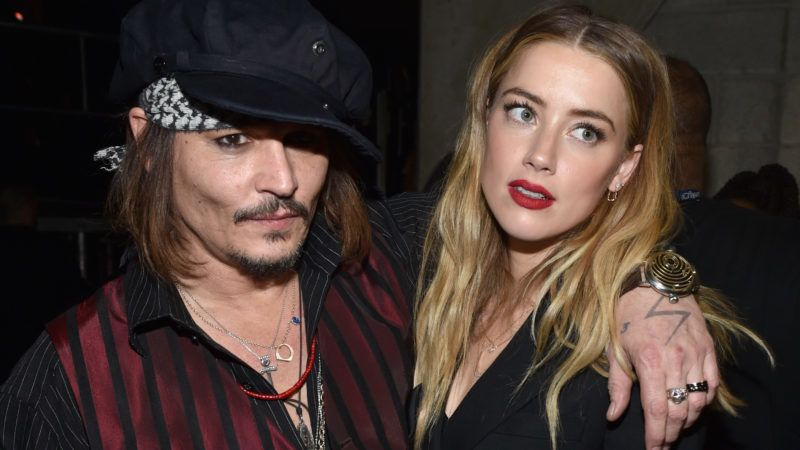 LOS ANGELES, CA - FEBRUARY 15:  Actor/musician Johnny Depp (L) and actress Amber Heard attend The 58th GRAMMY Awards at Staples Center on February 15, 2016 in Los Angeles, California.  (Photo by John Shearer/WireImage)