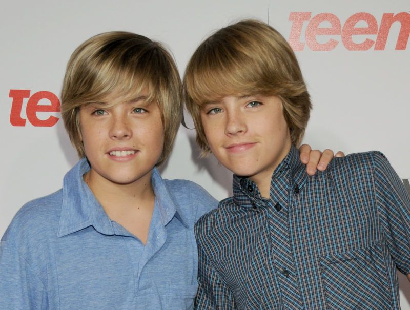 LOS ANGELES, CA - SEPTEMBER 18:  Actor's Cole Sprouse and Dylan Sprouse arrive at the Teen Vogue Young Hollywood Party at the Los Angeles County Museum Of Art on September 18, 2008 in Los Angeles, California.  (Photo by Gregg DeGuire/WireImage)