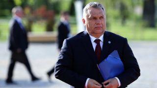 Szófia, 2018. május 16.Orbán Viktor miniszterelnök az Európai Néppárt, az EPP ülésére érkezik Szófiában 2018. május 16-án, az EU és a nyugat-balkáni országok csúcstalálkozója előtti napon. (MTI/EPApool/Sztojan Nyenov)
