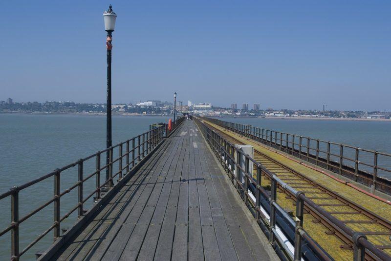 Southend Pier, Southend-on-Sea, Essex, England, United Kingdom, Europe