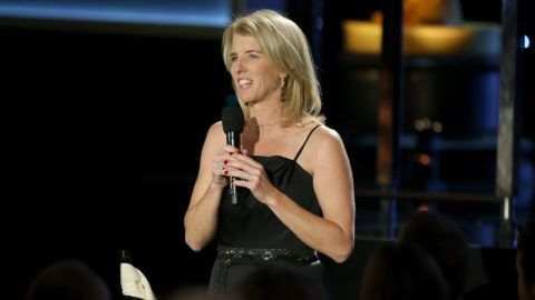 HOLLYWOOD, CA - NOVEMBER 12: Filmmaker Rory Kennedy speaks during the Academy of Motion Picture Arts and Sciences' 8th annual Governors Awards at The Ray Dolby Ballroom at Hollywood & Highland Center on November 12, 2016 in Hollywood, California.   Frederick M. Brown/Getty Images/AFP