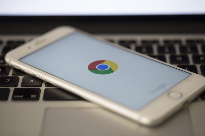 ANKARA, TURKEY - SEPTEMBER 02: Logo of Google Chrome is seen on a screen of smart phone in Ankara, Turkey on September 02, 2018.  Gokhan Balci / Anadolu Agency