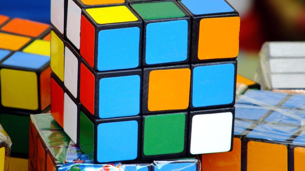 RUBIK'S CUBE  Rubik's Cube.   HOUIN / BSIP