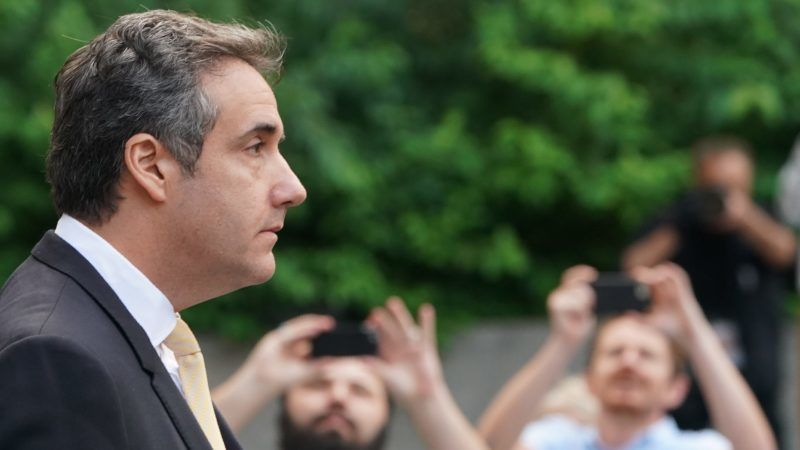 (FILES) In this file photo taken on August 21, 2018, Michael Cohen, former personal lawyer for US President Donald Trump, leaves federal court on August 21, 2018, in New York. President Donald Trump's former personal lawyer and fixer Michael Cohen has spent hours over the past month being interviewed by investigators of Special Counsel Robert Mueller, ABC News reported Thursday, September 20, 2018.  Cohen, once one of Trump's top aides, began talking with the Mueller investigation after he pleaded guilty on August 21 to bank fraud and campaign finance violations in an agreement with New York prosecutors.  / AFP PHOTO / Don Emmert