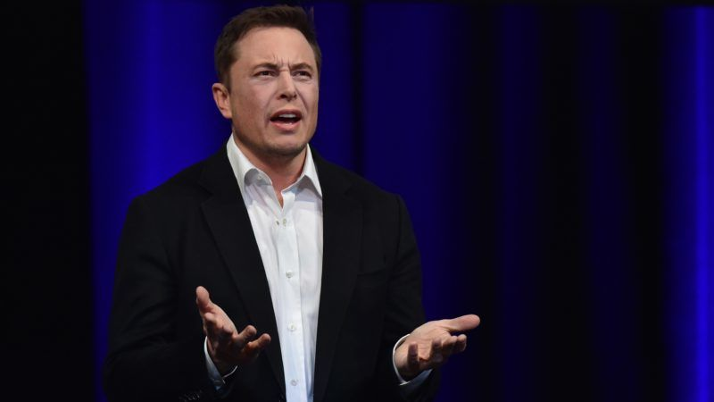 """(FILES) In this file photo taken on September 29, 2017 (FILES) In this file photo taken on September 28, 2017 Billionaire entrepreneur and founder of SpaceX Elon Musk speaks at the 68th International Astronautical Congress 2017 in Adelaide. Embattled Tesla chief Elon Musk rejected fraud charges made by securities regulators on September 27, 2018, accusing him of misleading investors over plans to take the electric automaker private.""""This unjustified action by the SEC leaves me deeply saddened and disappointed,"""" Musk said in a statement.""""I have always taken action in the best interests of truth, transparency and investors ... and the facts will show I never compromised this in any way.""""   / AFP PHOTO / PETER PARKS"""