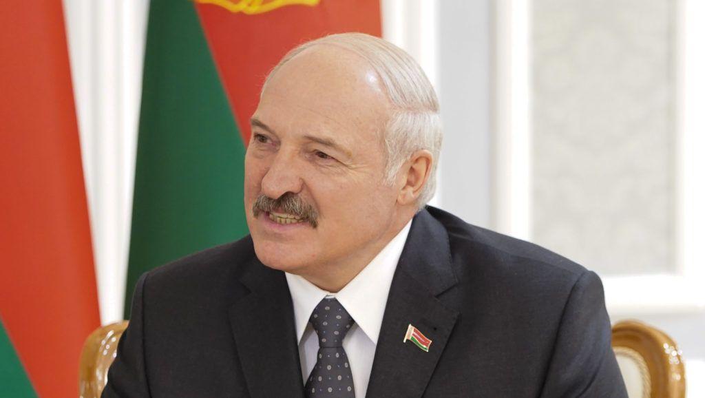 29 June 2018, Belarus, Minsk: Alexander Lukashenko, Belarusian President, in the Independence Palace. Photo: Jörg Carstensen/dpa