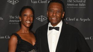 NEW YORK, NY - MARCH 14: Paunika Jones (L) and choreographer Arthur Mitchell attend The School Of American Ballet's 2016 Winter Ball at the David H. Koch Theater at Lincoln Center on March 14, 2016 in New York City.   Ben Gabbe/Getty Images/AFP