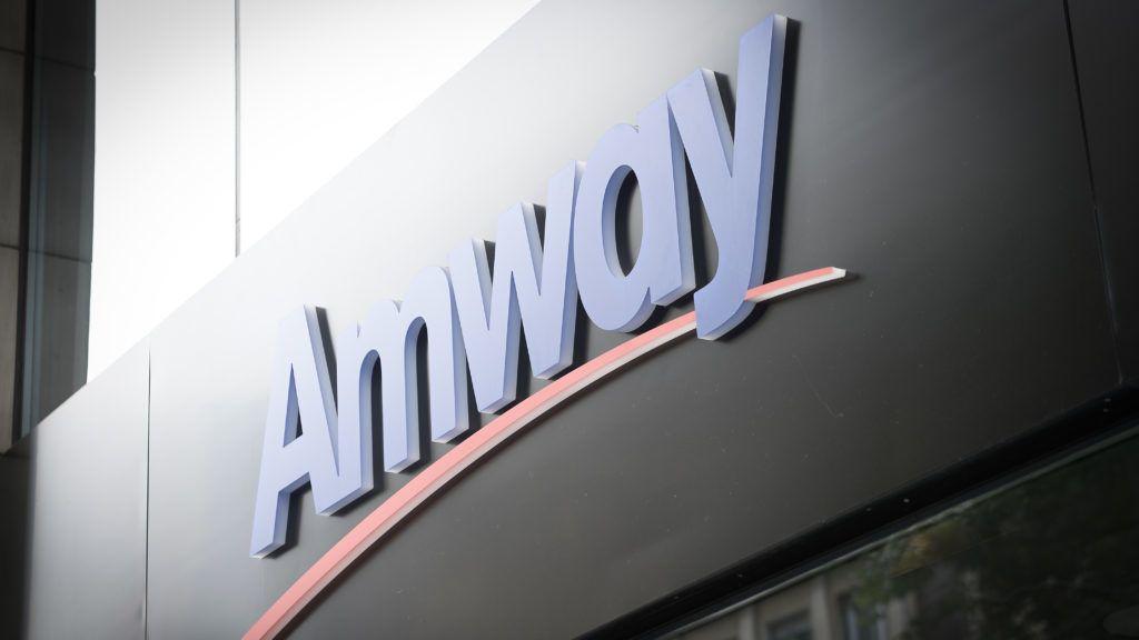 An Amway shop is seen in Bucharest, Romania on July 25, 2018. (Photo by Jaap Arriens/NurPhoto)