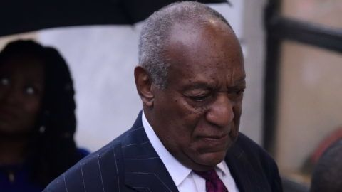 US Entertainer Bill Cosby arrives for a scenting hearing in Norristown, PA, on September 25, 2018. Cosby appears before Judge Steven O'Neil after a jury found the 81 year old entertainer guilty of three counts of aggravated indecent assault in a April 2018 retrial. (Photo by Bastiaan Slabbers/NurPhoto)