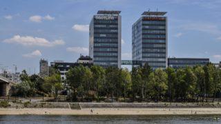 Budapest, 2017. június 27. A Duna Tower irodaház két tornya a Margitszigetrõl. MTVA/Bizományosi: Róka László  *************************** Kedves Felhasználó! Ez a fotó nem a Duna Médiaszolgáltató Zrt./MTI által készített és kiadott fényképfelvétel, így harmadik személy által támasztott bárminemû – különösen szerzõi jogi, szomszédos jogi és személyiségi jogi – igényért a fotó készítõje közvetlenül maga áll helyt, az MTVA felelõssége e körben kizárt.