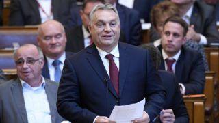 Budapest, 2018. szeptember 17. Orbán Viktor miniszterelnök válaszol a frakcióvezetõk felszólalásaira, akik reagáltak a kormányfõ napirend elõtti felszólalására az Országgyûlés plenáris ülésén 2018. szeptember 17-én. MTI Fotó: Kovács Tamás