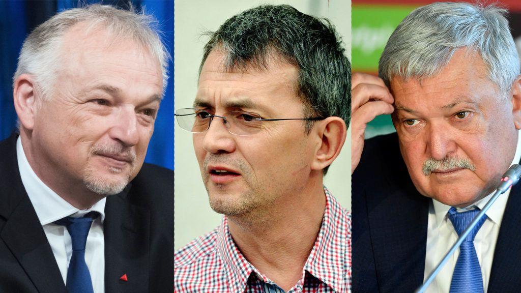 Budapest, 2018. június 15.Hernádi Zsolt, a Mol-csoport elnök-vezérigazgatója a főváros és a Mol-csoport közötti stratégiai megállapodás aláírásán a Városházán 2018. június 15-én.MTI Fotó: Koszticsák Szilárd