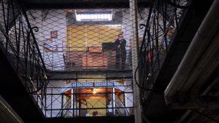 Budapest, 2009. december 30.A Kozma utcai börtön egyik szigorúan őrzött körlete. 2010 januárjában kerülhet az Országgyűlés elé az a büntetés-végrehajtási törvénymódosítási tervezet, amely igen alapos részletességgel meghatározza a külvilág felé való nyitás, a fogva tartás körülményei, az elítéltek jogai és kötelezettségei, valamint a büntetés-végrehajtási szervezet működésének főbb elveit.MTI Fotó: E. Várkonyi Péter