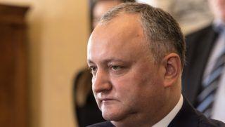 Budapest, 2017. május 26. Igor Dodon moldovai elnök Áder János köztársasági elnökkel folytatott megbeszélésén a Sándor-palotában 2017. május 26-án. MTI Fotó: Szigetváry Zsolt