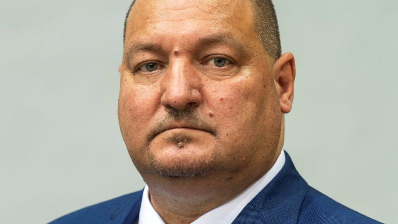 Németh Szilárd, a Magyar Birkózó Szövetség elnöke, a Honvédelmi Minisztérium parlamenti államtitkára