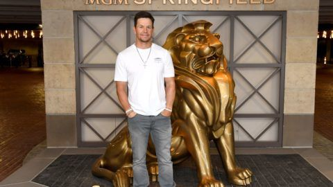 SPRINGFIELD, MA - AUGUST 23:  Mark Wahlberg announces the new Wahlburgers location coming to MGM Springfield in late 2019 on August 23, 2018 in Springfield, Massachusetts.  (Photo by Nicholas Hunt/Getty Images for MGM Springfield)