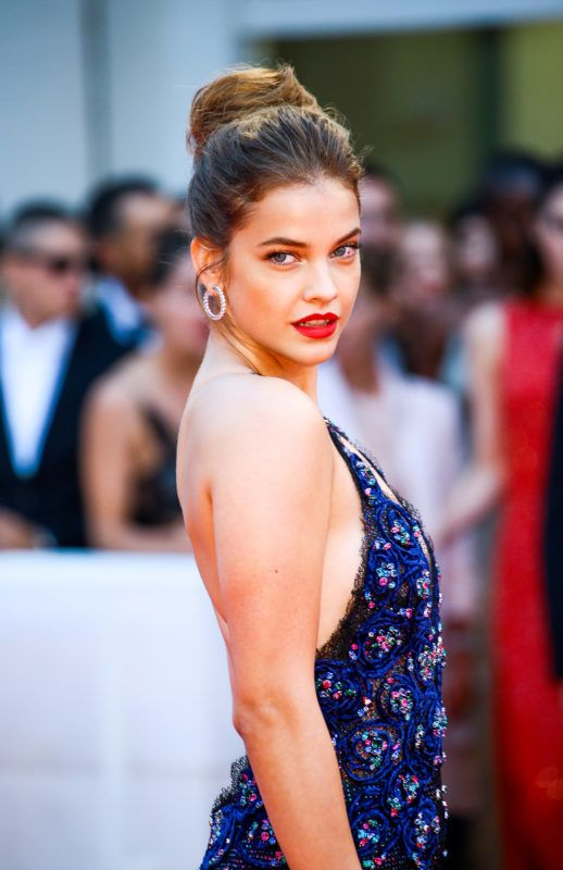 Barbara Palvin walks the red carpet ahead of the 'Suspiria' screening during the 75th Venice Film Festival on September 1, 2018 in Venice, Italy. (Photo by Matteo Chinellato/NurPhoto via Getty Images)