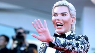 VENICE, ITALY - SEPTEMBER 04: Rodrigo Alves walks the red carpet ahead of the 'Vox Lux' screening during the 75th Venice Film Festival at Sala Grande on September 4, 2018 in Venice, Italy.  (Photo by Maria Moratti/Contigo/Getty Images)