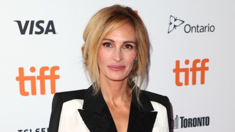 """TORONTO, ON - SEPTEMBER 07:  Julia Roberts attends the """"Homecoming"""" premiere during 2018 Toronto International Film Festival at Ryerson Theatre on September 7, 2018 in Toronto, Canada.  (Photo by Joe Scarnici/WireImage)"""