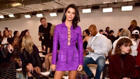 NEW YORK, NY - SEPTEMBER 08:  Kendall Jenner attends the Longchamp Spring/Summer 2019 Runway Show at World Trade Center on September 8, 2018 in New York City.  (Photo by Sean Zanni/Getty Images for Longchamp)