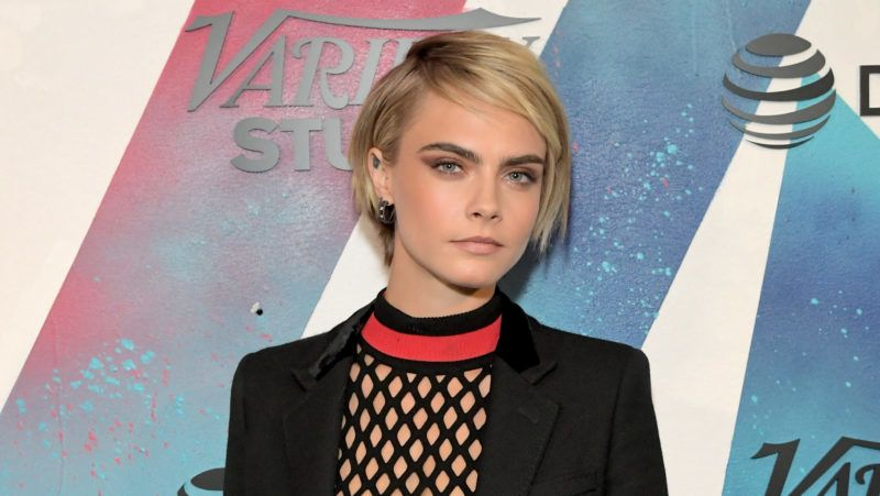 TORONTO, ON - SEPTEMBER 09:  Cara Delevingne stops by DIRECTV House presented by AT&T during Toronto International Film Festival 2018 at Momofuku Toronto on on September 9, 2018 in Toronto, Canada.  (Photo by Charley Gallay/Getty Images for AT&T and DIRECTV )