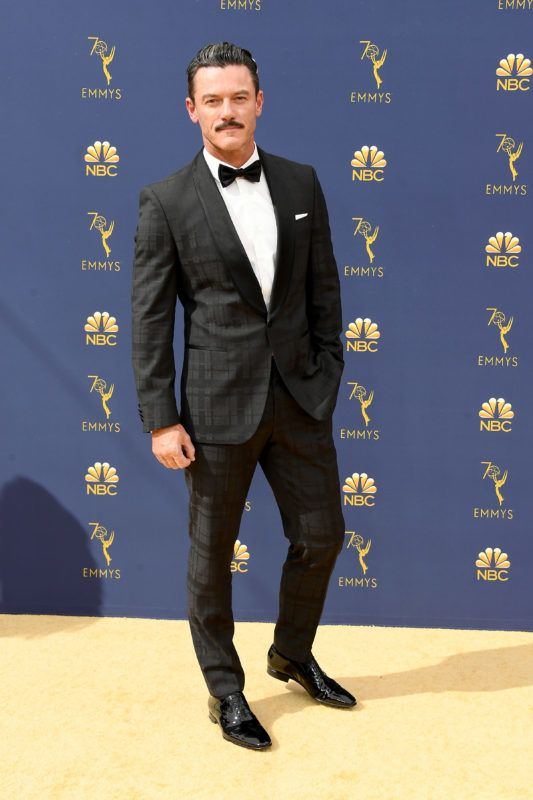 LOS ANGELES, CA - SEPTEMBER 17:  Luke Evans attends the 70th Emmy Awards at Microsoft Theater on September 17, 2018 in Los Angeles, California.  (Photo by Steve Granitz/WireImage,)