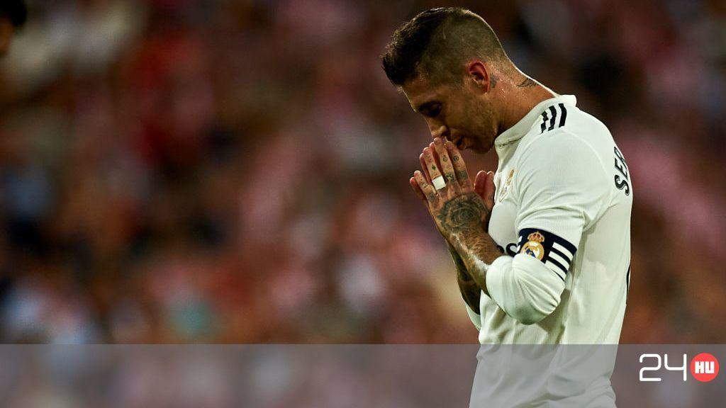 Sergio Ramos reagált a legutóbbi edzésbalhéjára