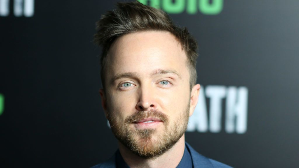 """LOS ANGELES, CA - JANUARY 19:  Actor Aaron Paul attends Premiere of Hulu's """"The Path"""" Season 2 at Sundance Sunset Cinema on January 19, 2017 in Los Angeles, California.  (Photo by Tasia Wells/WireImage)"""
