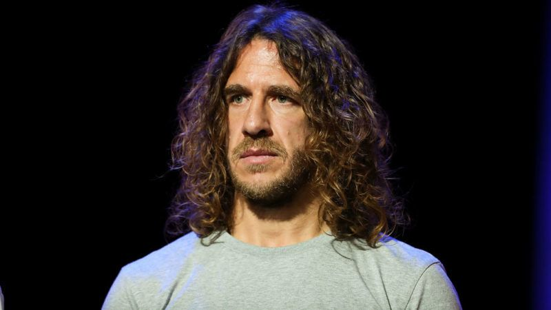 MOSCOW, RUSSIA - NOVEMBER 29:  Carles Puyol looks on after the rehearsal for the 2018 FIFA World Cup Draw at the Kremlin on November 29, 2017 in Moscow, Russia.  (Photo by Amin Mohammad Jamali/Getty Images)