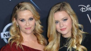"""LOS ANGELES, CA - FEBRUARY 26:  Actress Reese Witherspoon and daughter Ava Phillippe arrives for the Premiere Of Disney's """"A Wrinkle In Time"""" held at the El Capitan Theatre on February 26, 2018 in Los Angeles, California.  (Photo by Albert L. Ortega/Getty Images)"""