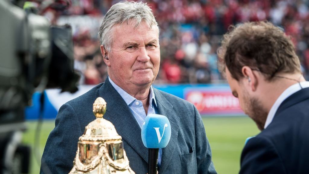 Guus Hiddink during the Dutch Toto KNVB Cup Final match between AZ Alkmaar and Feyenoord on April 22, 2018 at the Kuip stadium in Rotterdam, The Netherlands.(Photo by VI Images via Getty Images)