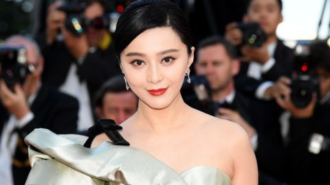 """CANNES, FRANCE - MAY 11:  Actress Fan Bingbing attends the screening of """"Ash Is The Purest White (Jiang Hu Er Nv)"""" during the 71st annual Cannes Film Festival at Palais des Festivals on May 11, 2018 in Cannes, France.  (Photo by Stephane Cardinale - Corbis/Corbis via Getty Images)"""
